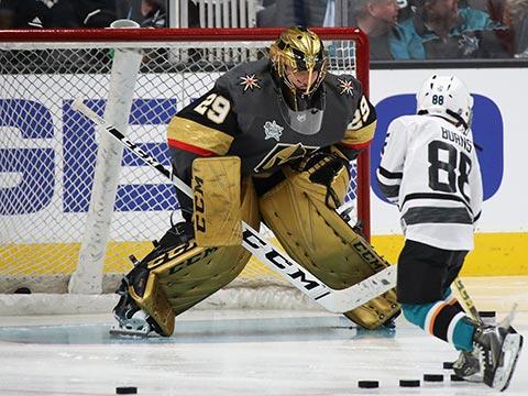 [NHL]2018-19赛季全明星技巧挑战赛:连续扑救