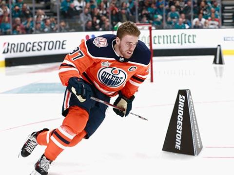 [NHL]2018-19赛季全明星技巧挑战赛:传球大师