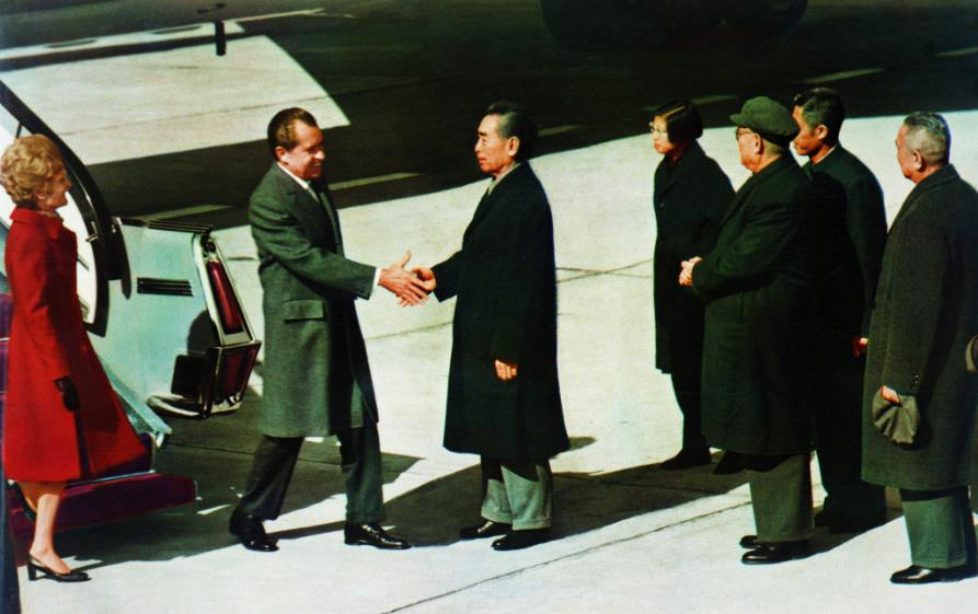 """《四十年四十个第一》T0航站楼?尼克松和周总理的""""第一次握手""""之地 00:00:38"""