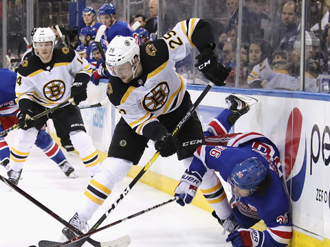 [NHL]常规赛:波士顿棕熊VS纽约游骑兵 第三节