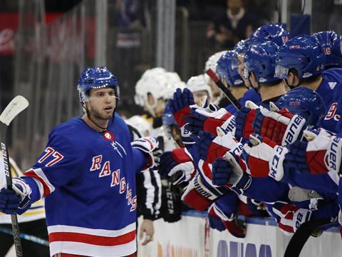 [NHL]常规赛:波士顿棕熊3-4纽约游骑兵 比赛集锦