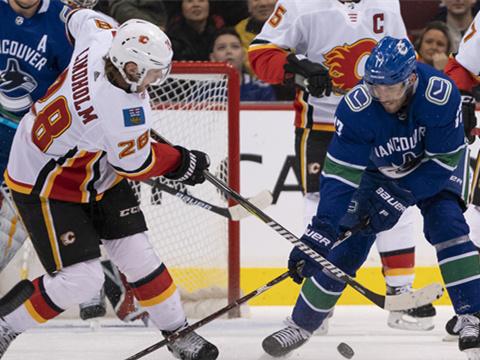 [NHL]常规赛:卡尔加里火焰VS温哥华加人 第二节