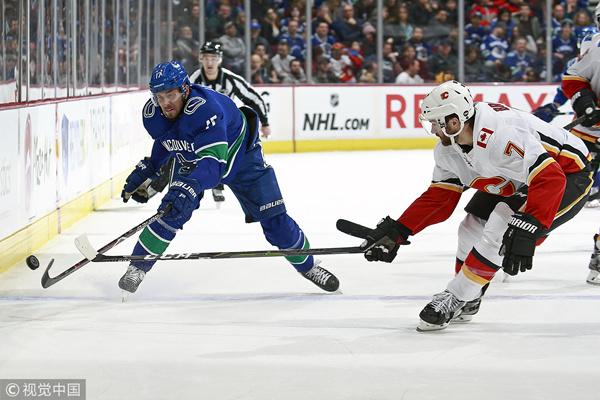 [NHL]常规赛:卡尔加里火焰VS温哥华加人 第三节