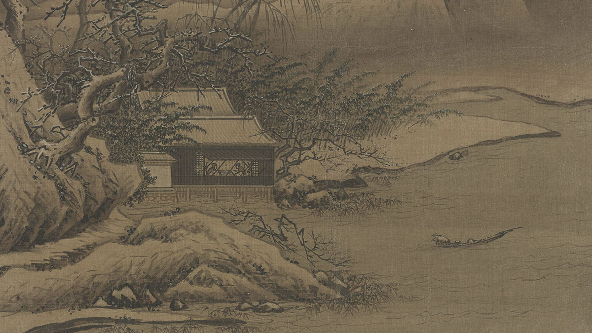 【央视画廊】传世墨迹——古画中的雪 穿越千年的美