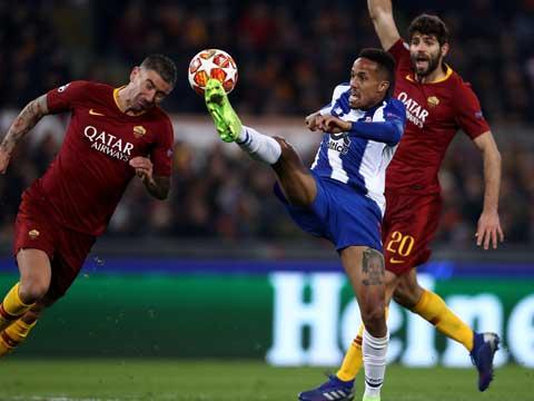[欧冠]1/8决赛:罗马VS波尔图 上半场