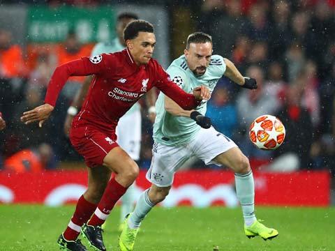 [欧冠]1/8决赛:利物浦0-0拜仁慕尼黑 比赛集锦