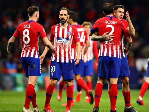 [欧冠]1/8决赛:马德里竞技2-0尤文图斯 比赛集锦