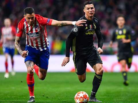 [欧冠]1/8决赛:马德里竞技VS尤文图斯 上半场