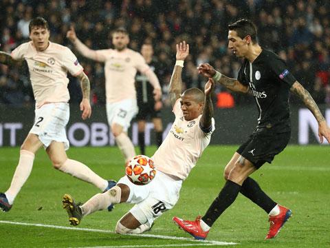 [欧冠]1/8决赛次轮:巴黎圣日耳曼1-3曼联 集锦