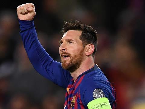 [歐冠]1/8決賽次回合:巴塞羅那5-1里昂 比賽集錦