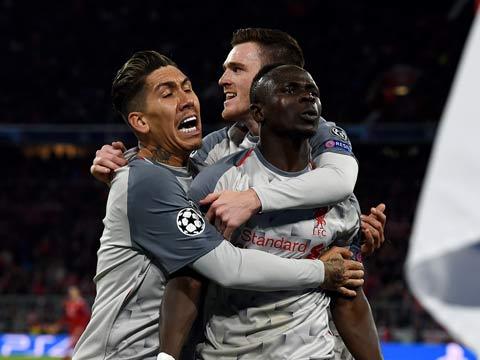 [歐冠]1/8決賽次回合:拜仁VS利物浦 完整賽事