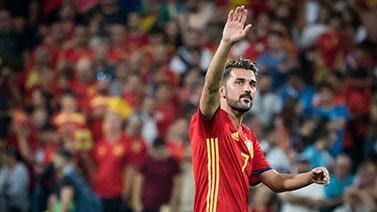 [圖]告別傳奇!西班牙前鋒比利亞宣布賽季末退役