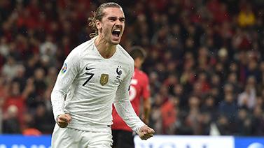 [圖]歐預賽-格子傳射 法國2-0阿爾巴尼亞奪頭名
