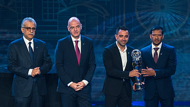 [圖]亞足聯2019年度頒獎典禮:阿菲夫當選足球先生
