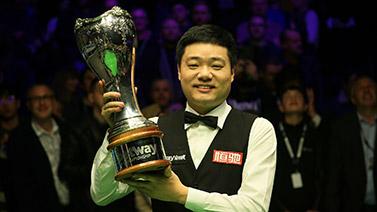 [图]英锦赛-丁俊晖10-6马奎尔收第3冠 世界排名第9