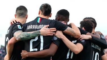 [意甲]伊布回歸首球 AC米蘭客場戰勝卡利亞里