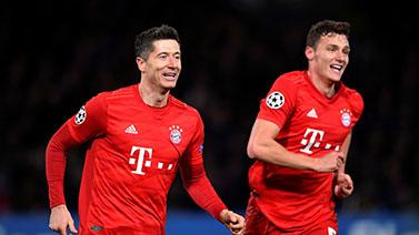 [歐冠]1/8決賽:切爾西0-3拜仁慕尼黑 比賽集錦