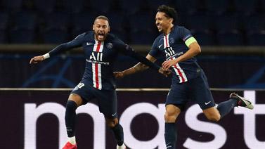 [圖]內馬爾頭籌飛翼破門 巴黎2-0勝10人多特晉級