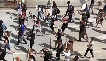 《今日关注》 20200530 抗议怒火烧至白宫 美多地混乱升级