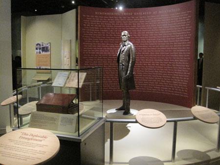 史密森通过3D印刷(3D printing)技术还原的杰斐逊雕像