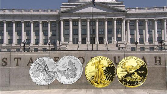 美国犹他州发行的金币