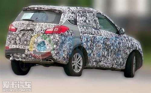 【奇瑞新款SUV最新谍照】-或搭1.6T 奇瑞新款SUV车型动力信息曝光高清图片