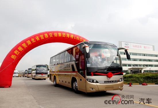 宜昌交运批量LNG发车