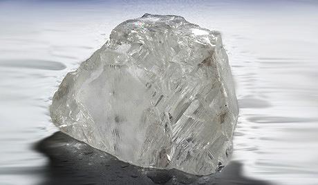 """俄罗斯发现158克拉巨钻,被居民称作""""神之眼"""""""