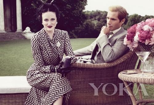 《安娜卡列尼娜》掀起沙俄时尚复古风潮