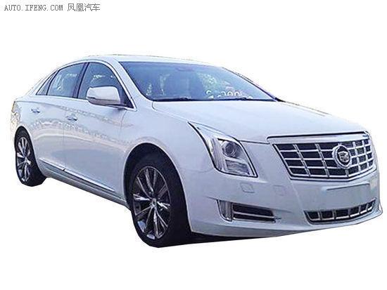 凯迪拉克国产XTS广州车展亮相 明年上市