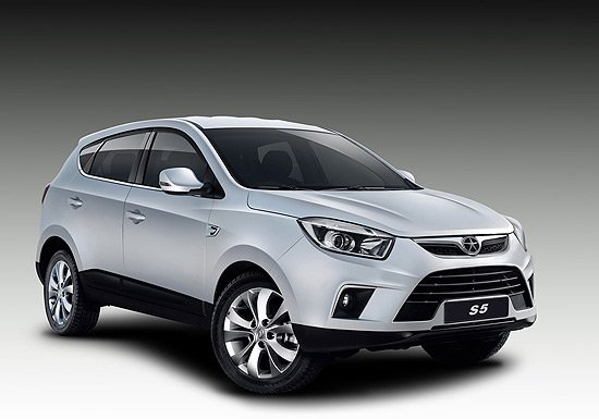 江淮S5全新SUV亮相广州车展 搭1.8T发动机