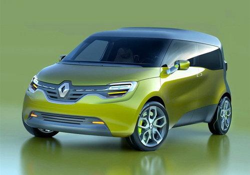 搭锂离子发动机 雷诺推Frendzy概念车