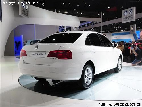 大众 一汽-大众 新捷达 2013款 基本型