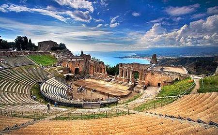 意大利西西里 看希腊神庙品芝麻曲奇