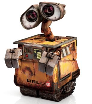 《机器人总动员》中机器人瓦力能够清除地球垃圾-好奇号 像机器人瓦