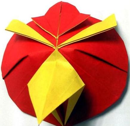 手工折纸动物详解 愤怒的小鸟折纸方法