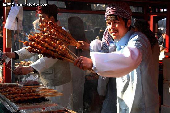 庙会上的美食 二合一 摄影