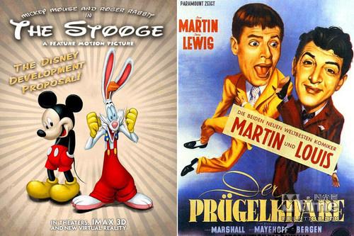 改编自1952年真人喜剧片《喜剧配角》,米老鼠搭档兔子罗杰