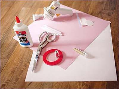 实用的手工折纸玫瑰花制作步骤:-简单实用的手工折纸玫瑰花图片