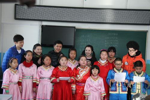 佳木斯市街津口赫哲族中心校
