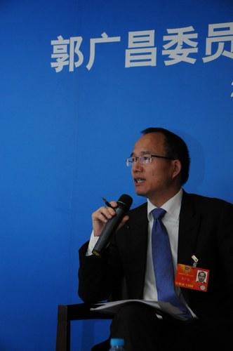 图为全国政协委员 复星集团董事长郭广昌