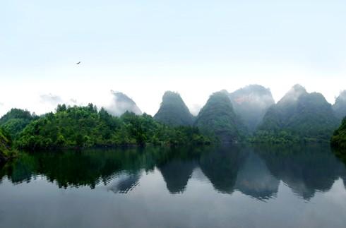 宁远山水房子风景图片