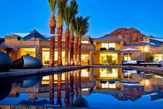别墅别墅家居风美国亚利桑那州沙漠谷奢华草原1包头青宾五号天堂图片