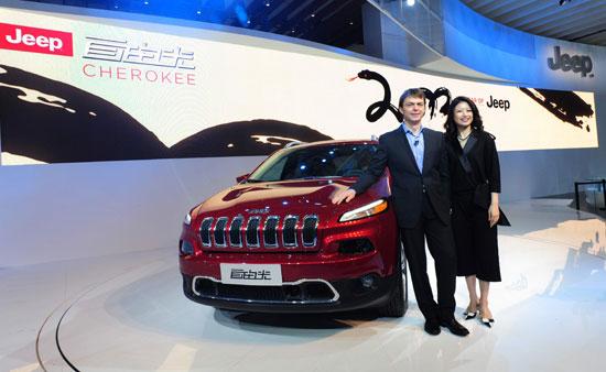Jeep全新SUV亮相上海车展