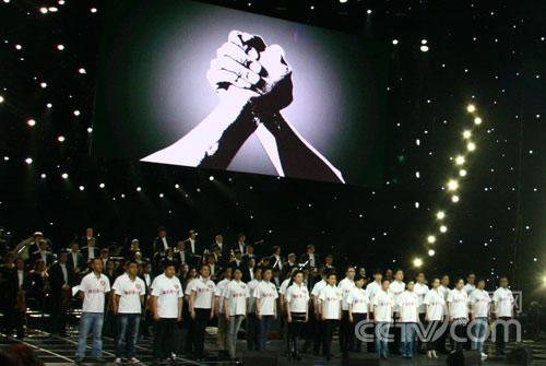 27位晋级选手首度同台演唱赈灾歌曲