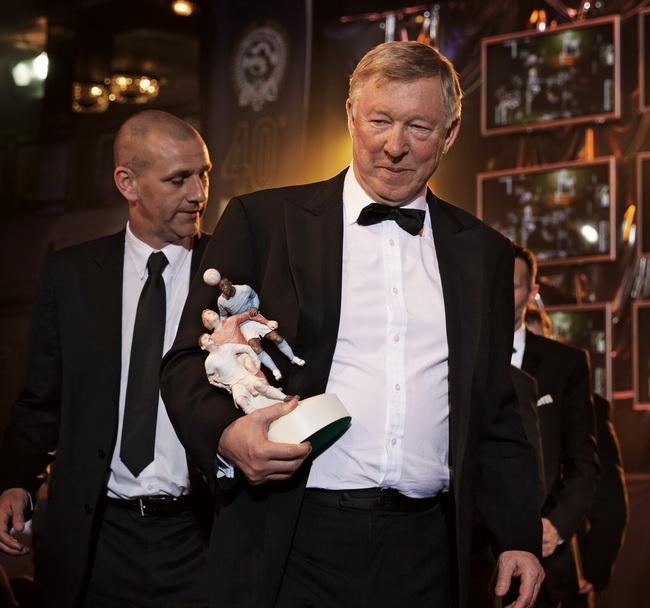 弗格森在 2013 PFA 年度颁奖典礼现场