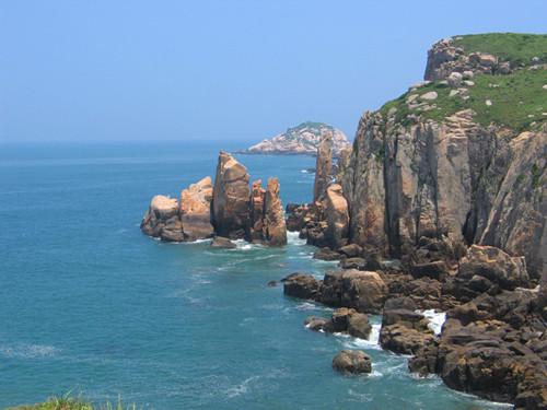 南麂岛 静心放空看蔚蓝色的海