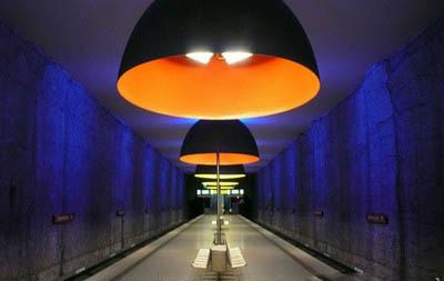 各具特色 盘点欧洲十大新奇地铁站