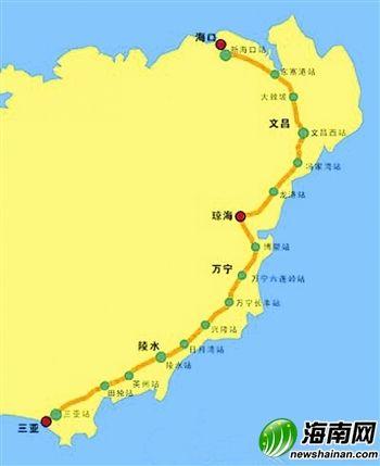 坐上动车去旅行:三亚出发一路向北游海南