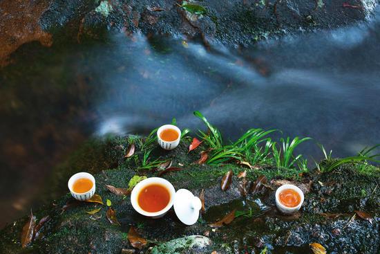 武夷山的好水,好茶